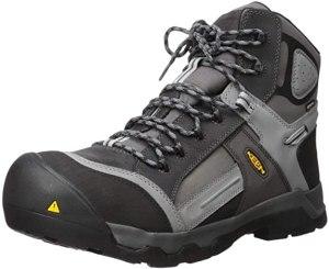 KEEN Utility Mens Davenport 6 inch 400g Ct Waterproof Work Boot