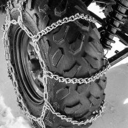 Titan Attachment ATV Tire Chains 10 VBAR For Off-Road Snow & Mud Tires