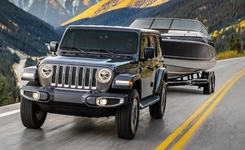 How much can a Jeep Wrangler Unlimited Tow?
