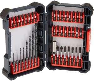 BOSCH 40 Piece Impact Tough Drill Driver Set DDMS40 - Twist Drill Bits