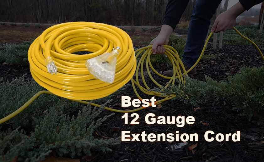 best 12 gauge extension cord