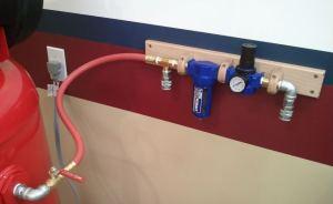 Air Compressor Filter Regular Setup