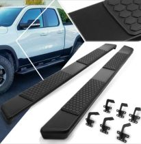 Running Boards:Nerf Bars:Side Steps Compatible with 19-20 Ram 1500 Crew Cab