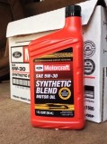 Motorcraft SAE 5w30 Synthetic Blend - Best Oil for Ford F150 Ecoboost