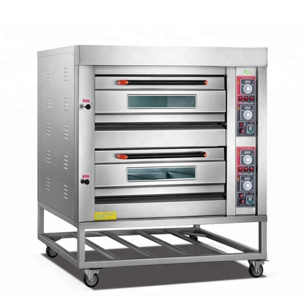 Gas Oven 2 Deck 4 Tray ROYAL