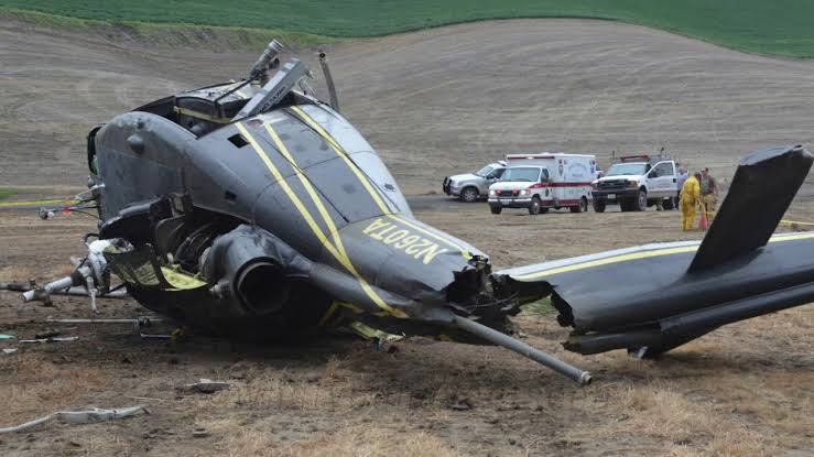 Two pilots die as military plane crashed