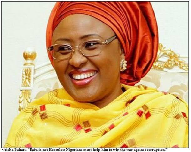 COVID-19: Aisha Buhari donates food items to widows, vulnerable