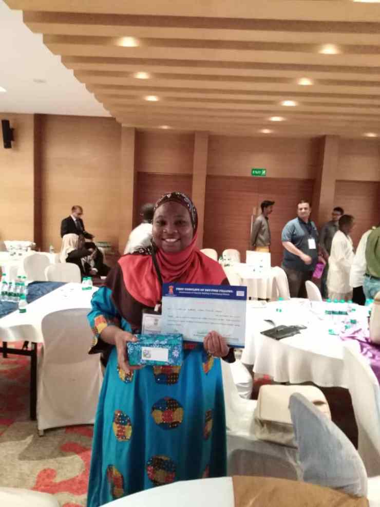 Breaking....Nigerian PhD researcher emerges 3rd in Chennai Int'l TWAS Conclave