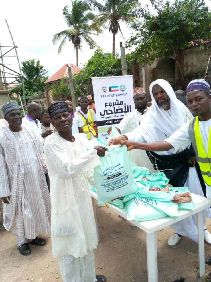 Kuwaiti govt. donates sallah packages to over 10,000 households in Abuja, Kwara