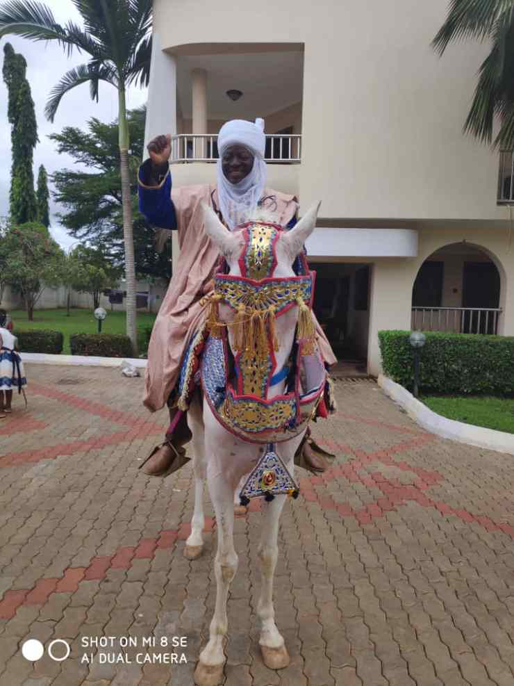 Emir of Ilorin appoints Alapansanpa as new Danmasanin Ilorin