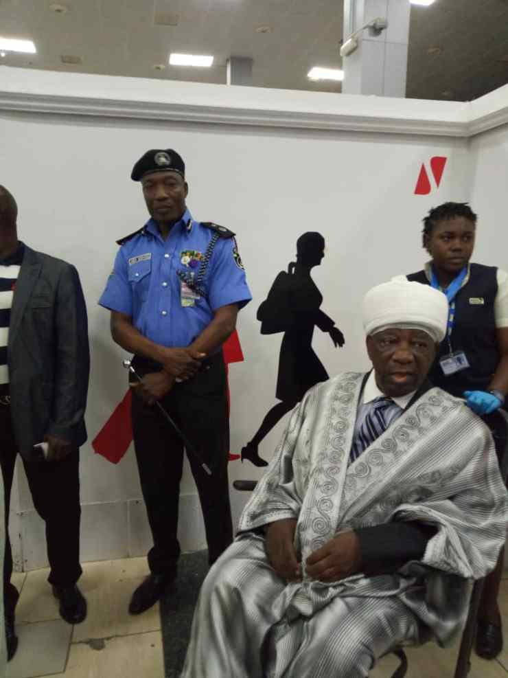 See pictures of Emir of Ilorin as he departs for London