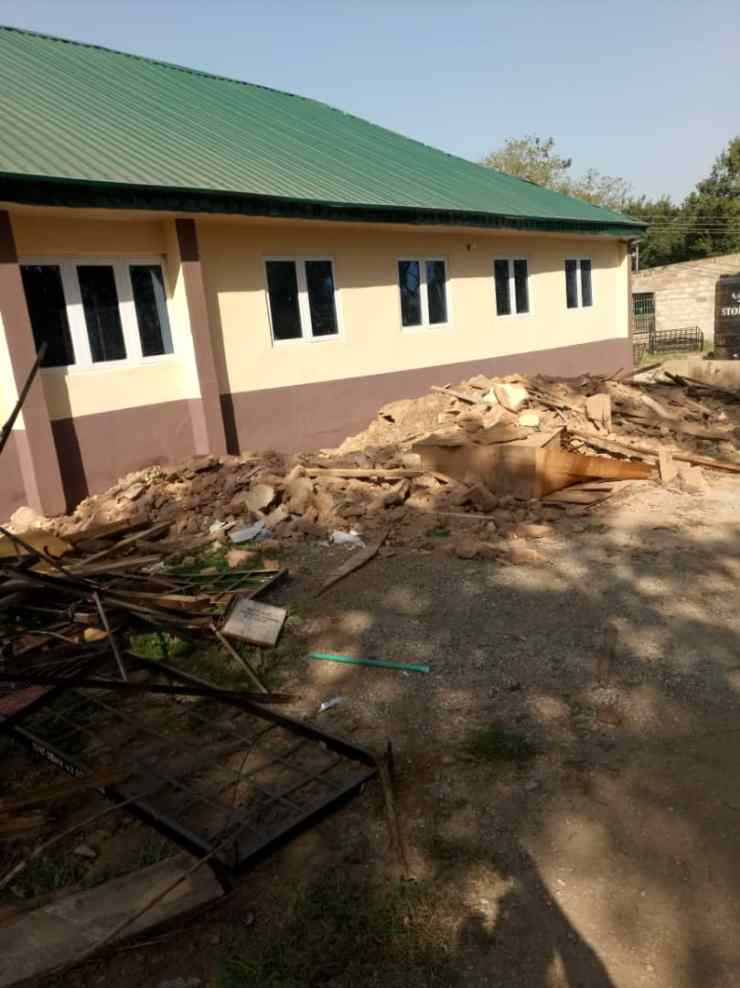(SEE PHOTOS) Kwara governor fixes NYSC camp, School for Special Needs after 5months of visit