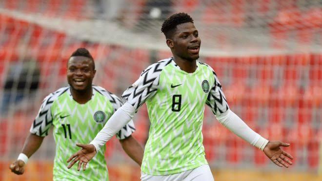 Super Eagles redeem hope, defeat Zambia 3-1
