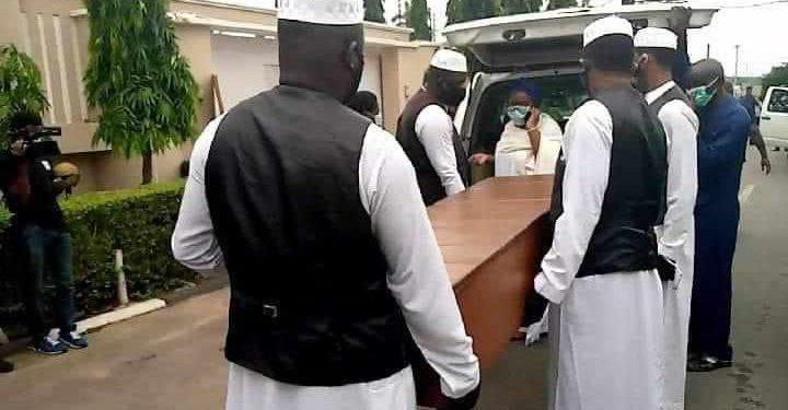 Late Ajimobi's finally buried in Ibadan (PHOTOS)