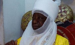 Emir of Ilorin celebrates with Prof. Oyawoye at 93