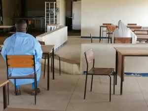 COVID-19 patient writes WAEC from Isolation centre in Kwara