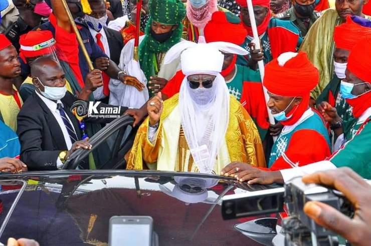 Kano Emir, Ado Bayero finally breaks silence on why he visited Kwara