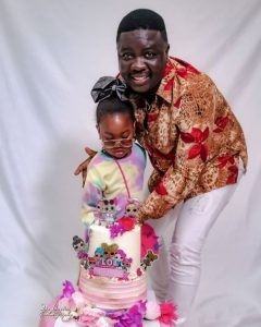 Comedian, Seyi Law celebrates daughter's 4th birthday (photos)