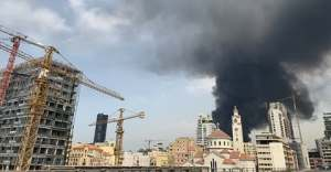 BREAKING: Fire razes Beirut port weeks after deadly explosion