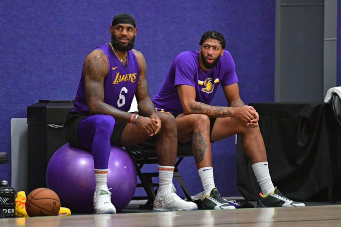 IS LAKER'S LEBRON-AD ONE-TWO PUNCH ENOUGH FOR CHAMPIONSHIP TITLE?