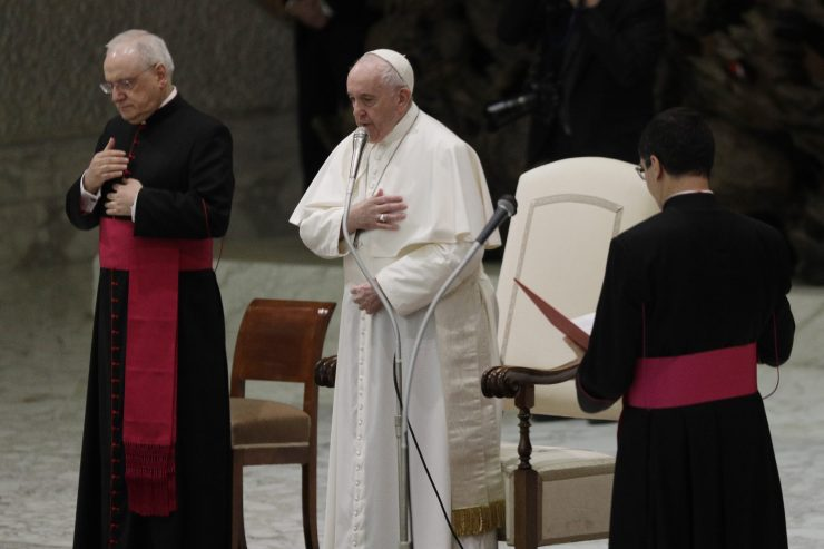 Pope Francis names 13 new cardinals to be appointed on Nov. 28