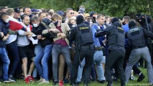 More than 600 protesters detained in Belarus