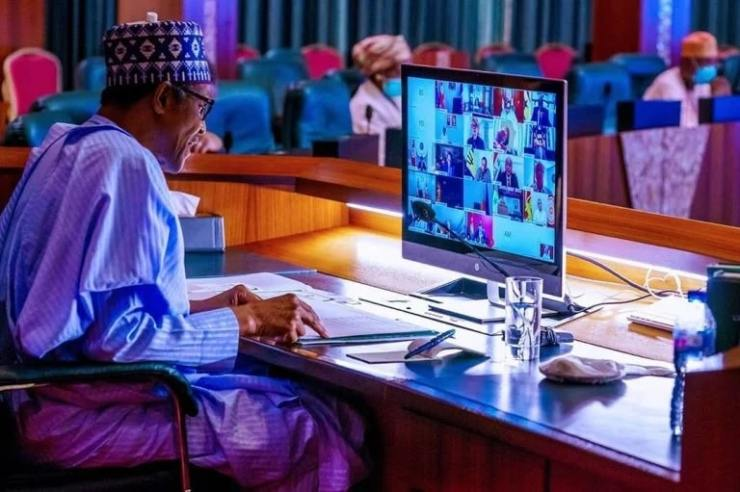 #EndSARS protest: Buhari consults with former leaders via video conferencing
