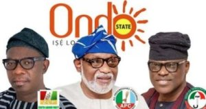 Ondo poll: Akeredolu in early lead as INEC announces results in 12 LGAs