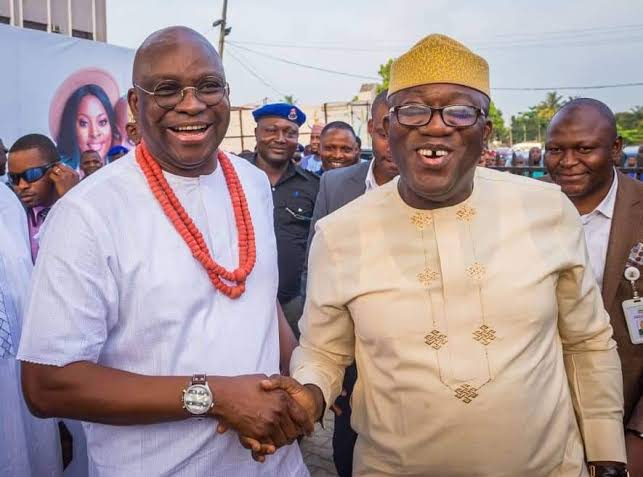 Fayemi commends ex-Gov. Fayose over project