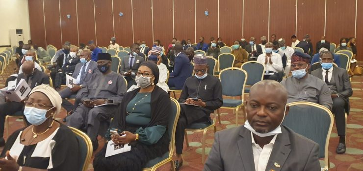 Yusuf Ali SAN's new book finally unveiled in Abuja (PHOTOS)
