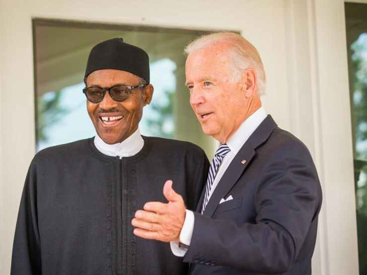Buhari congratulates Biden, says looking forward to greater cooperation with U.S.