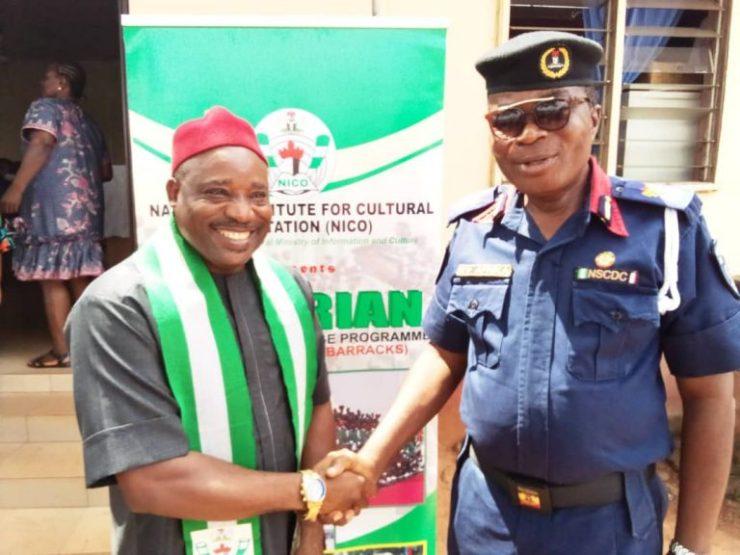 55 NSCDC officers graduate in indigenous language courses in Enugu