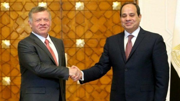 Egypt, Jordan discuss efforts to resume Mideast peace process