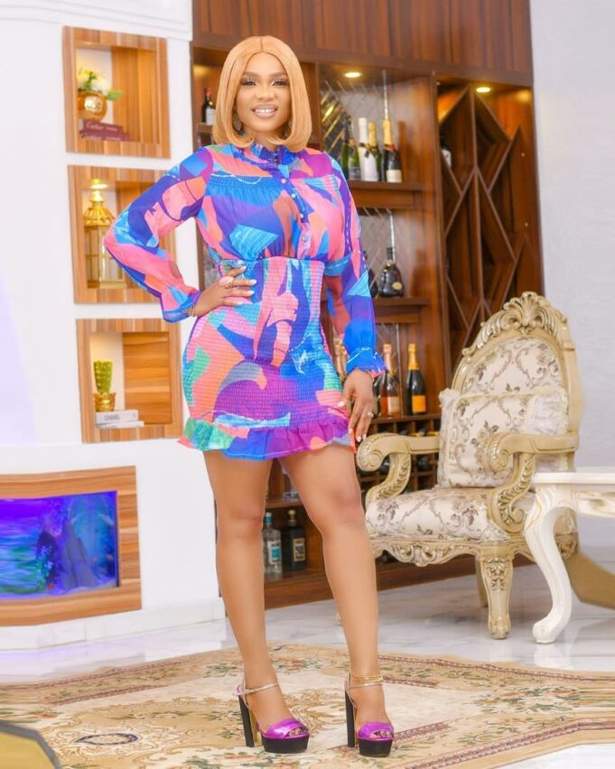 Actress, Iyabo Ojo Celebrates 43rd Birthday