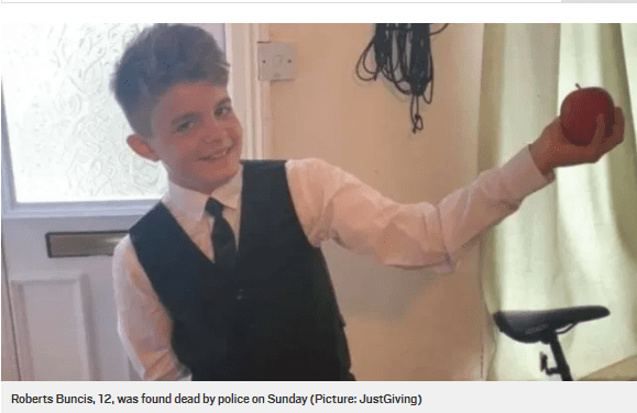 Teenager, 14, charged with the murder of 12-year-old boy
