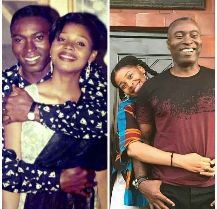 Yibo koko and wife Yellow sisi celebrate 21 years wedding anniversary