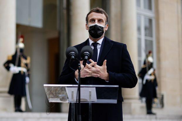 French president, Emmanuel Macron tests positive for coronavirus