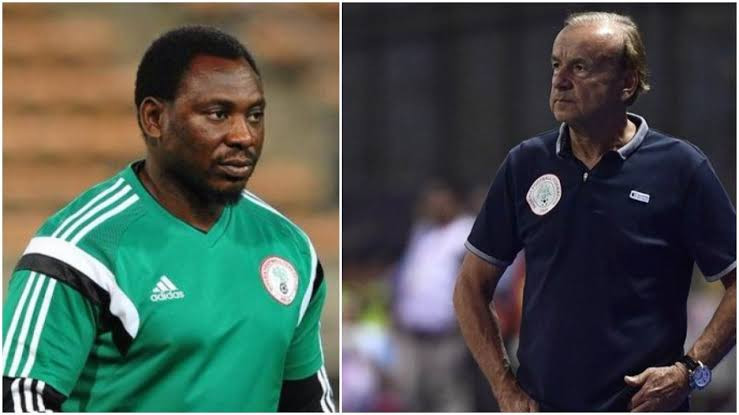 Daniel Amokachi blasts NFF for allowing $2 million compensation clause in Gernot Rohr's contract but owing Oliseh and Amuneke