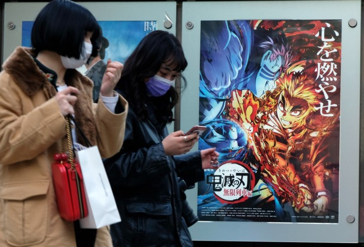 """""""Demon Slayer"""" becomes Japan's top-grossing movie"""