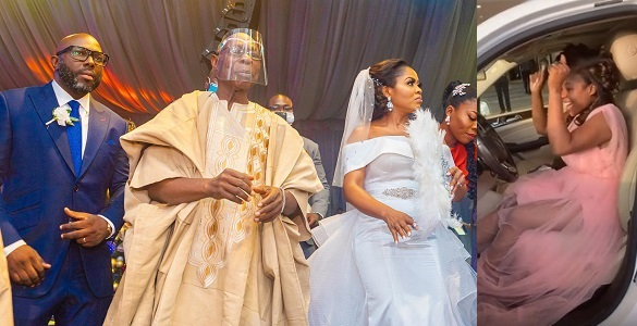 Ex President, Olusegun Obasanjo's son, Seun weds his beau, gifts bride a Benz.