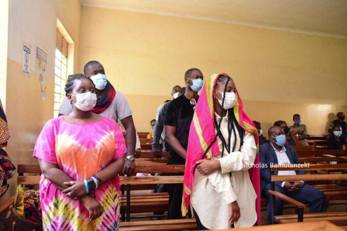 Nigerian singers, Omah Lay & Tems appear in court in Uganda
