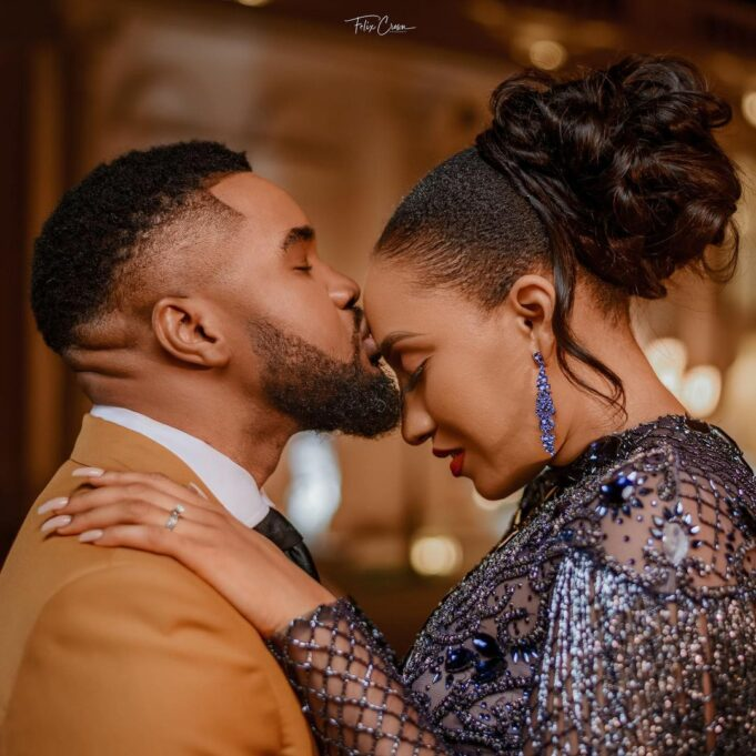 Actor, Williams Uchemba and wife pictured on their honeymoon (photos)