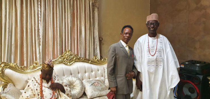 PHOTO NEWS: KAM Holding CEO hosts Olusin Ijara-Isin, Oniwo, others