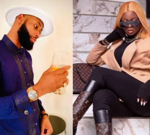 BBNaija's Tochi pretends not to know his co-star Ka3na
