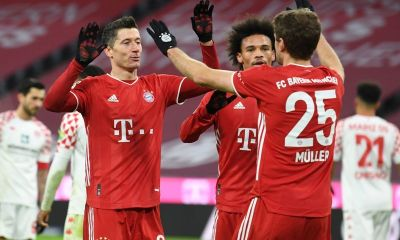 Bayern Munich rally back to retain Bundesliga top spot with 5-2 win