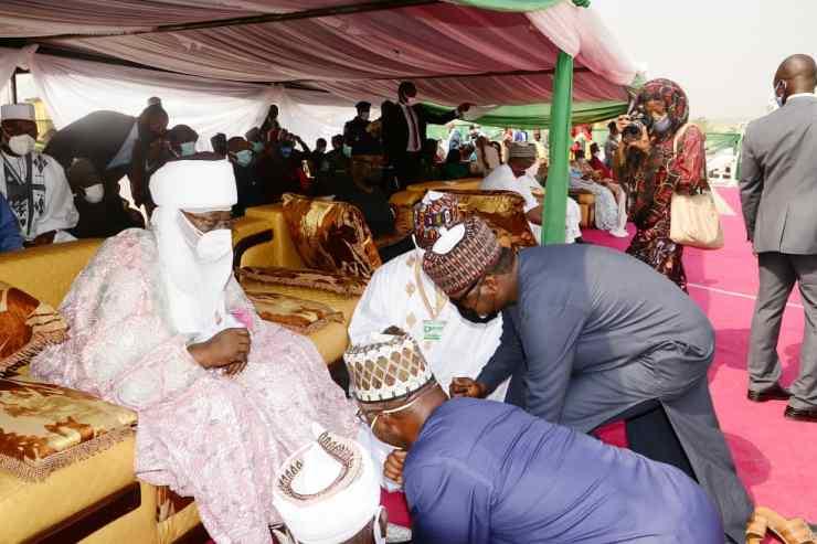 PHOTO NEWS: Faces as FG unveils Nigeria Sugar Institute in Kwara