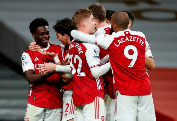Lacazette grabs brace as Arsenal thrash West Brom 4-0
