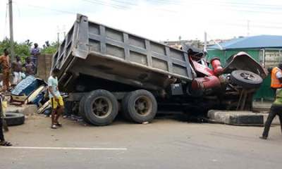 Truck driver kills man in Onitsha