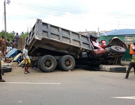 Truck driver kills man in Onitsha