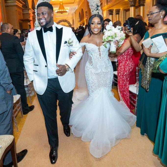 Davido's brother, Adewale Adeleke celebrates first wedding anniversary with wife